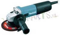 MAKITA HAAKSE SLIJPER 125MM